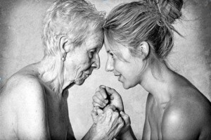 letter-mother-daughter-old-young-black-white-spring-in-the-air